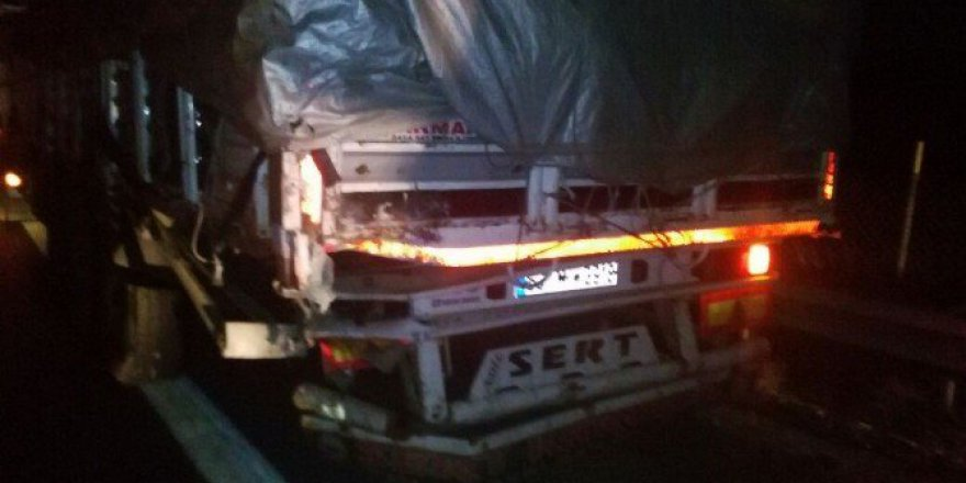 Mersin, Tarsus'ta Trafik Kazası: 2 Ölü