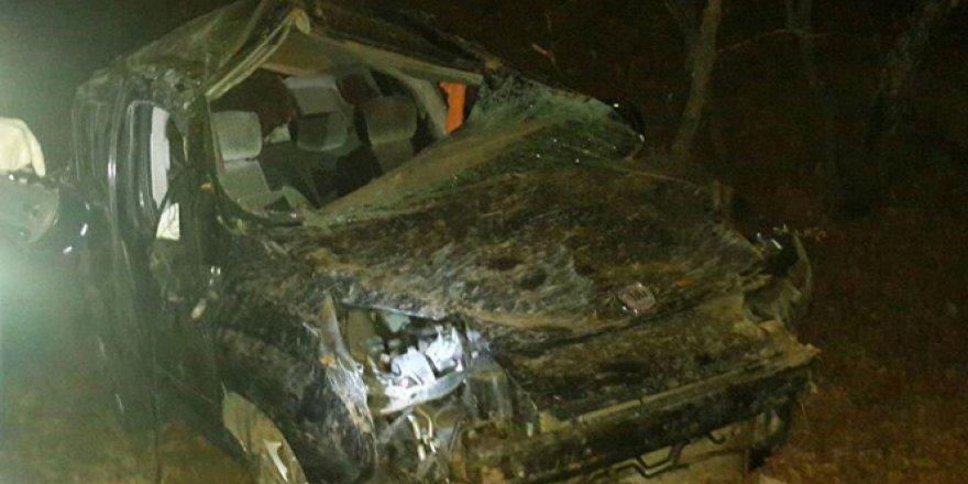 Bingöl'de Otomobil Uçuruma Yuvarlandı: 3 Ölü, 2 Yaralı