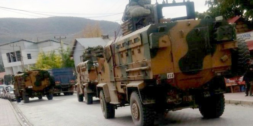 Çukurca'da askeri hareketlilik sürüyor