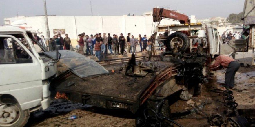 Azez'de İntihar Saldırısı! 1 Ölü, 15 Yaralı