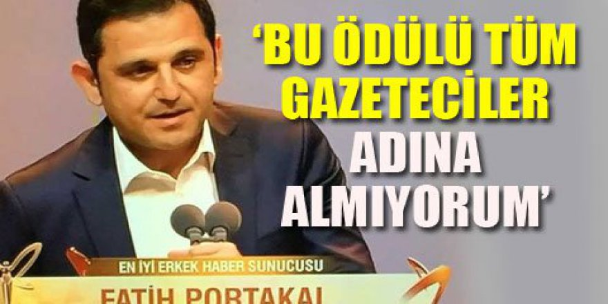 Geceye Fatih Portakal damga vurdu