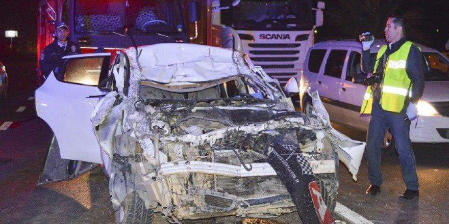 Manisa, Turgutlu'da Korkunç Kaza: 1 Ölü