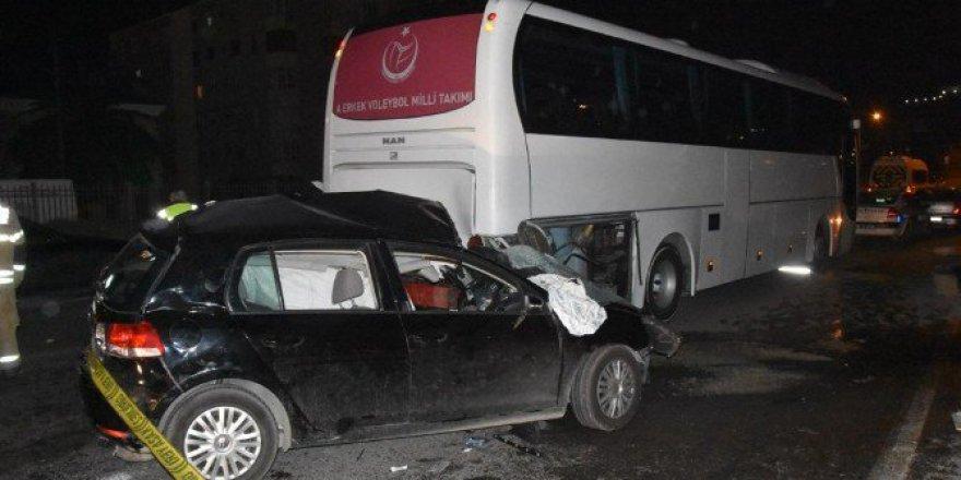 İzmir, Bayraklı İlçesinde Feci Kaza: 1 Ölü