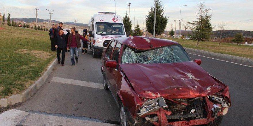 Kütahya, Tavşanlı'da Trafik Kazası: 1 Yaralı