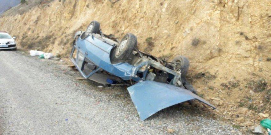 Gümüşhane, Kürtün'de Kaza: 2 Yaralı