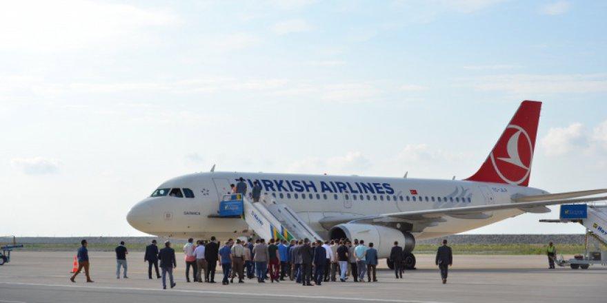 Ordu-Giresun Havalimanında 1 milyon yolcuya yaklaşıldı