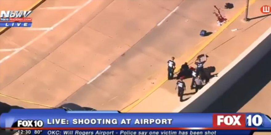 ABD'nin Oklahoma eyaletinde havalimanına saldırı düzenlendi