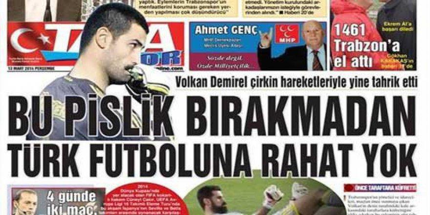 Kaleci Volkan Demirel, Taka Gazetesi'ne Açtığı Davayı Kazandı