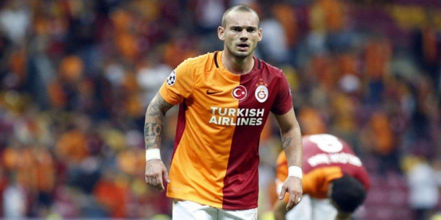 Galatasaraylı Futbolcu Sneijder'den çarpıcı derbi açıklaması