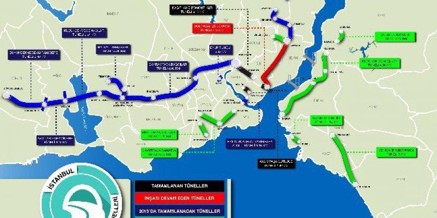 İstanbullulara Büyük Müjde! Tünel Yollar Geliyor, Mesafeler Kısalıyor