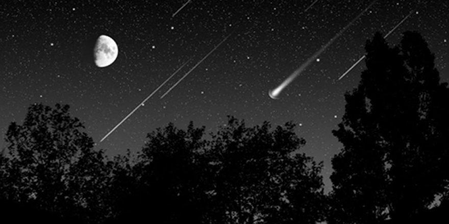 ''Leonid Meteor Yağmuru'' Dün Gece Gerçekleşti
