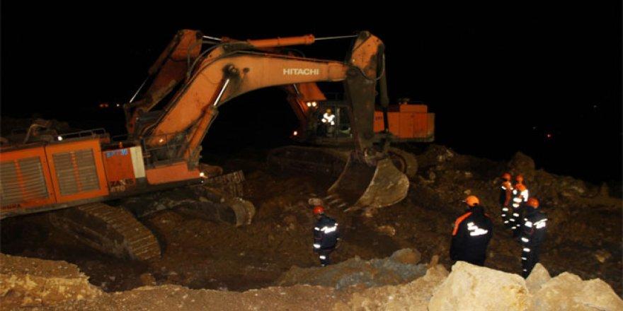 Şirvan, Maden köyünde kurtarma çalışmaları devam ediyor