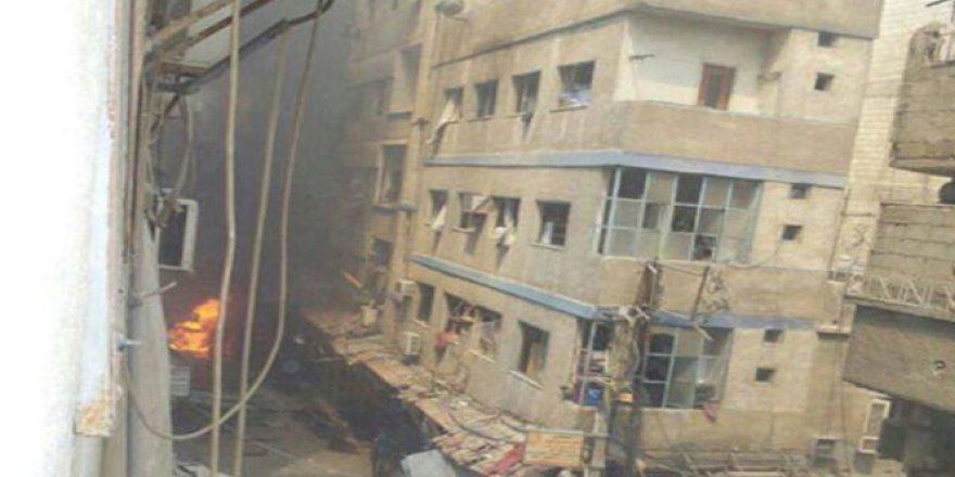 Halep'te Hastanelerde Hizmet Verilemiyor