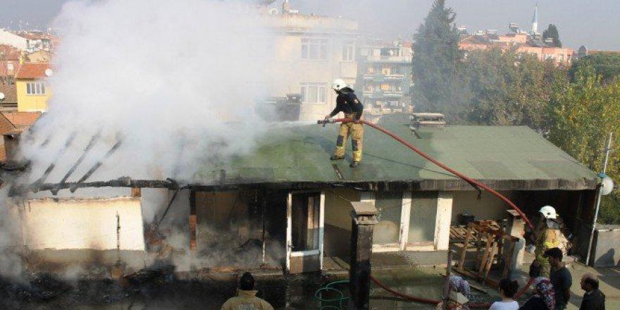 İzmir, Ödemiş'te Yangın Paniği
