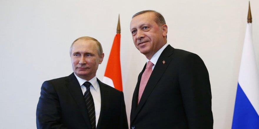 Cumhurbaşkanı Erdoğan, Rusya Lideri Putin'le Görüştü