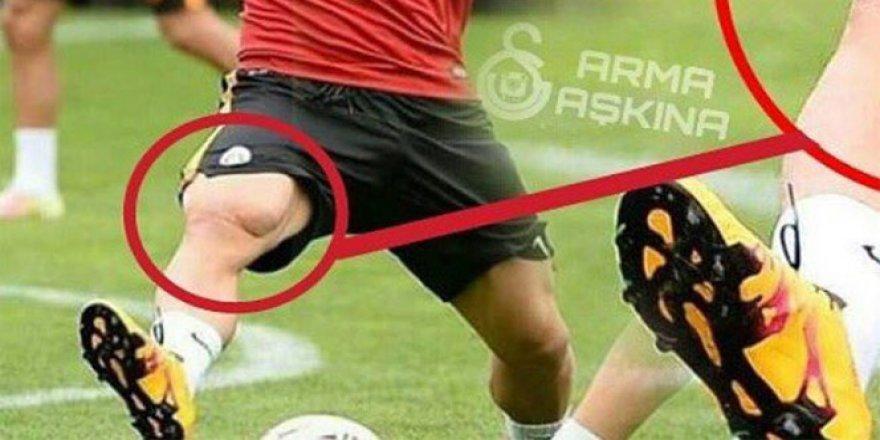 Lukas Podolski'nin bacak kası şaşırttı
