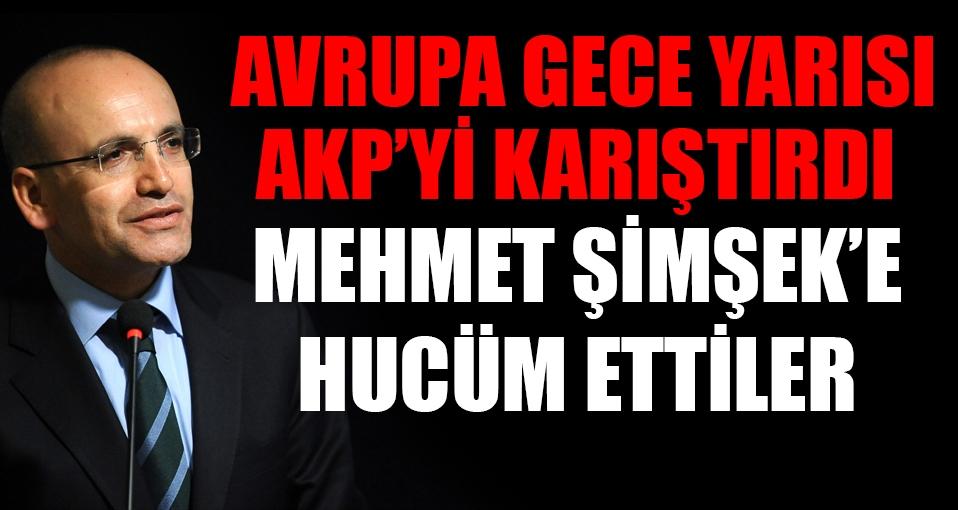 Gece Yarısı Mehmet Şimşek bombası!