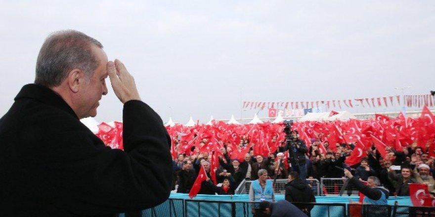 """Cumhurbaşkanı Erdoğan: """"Ben Hans'ın Ağzına Bakarak, George'nin Ağzına Bakarak Karar Vermem"""""""