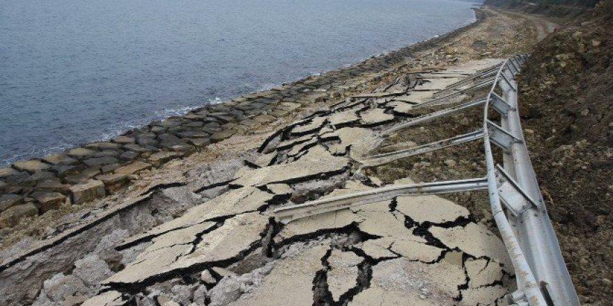 Sinop'ta Su Baskınları ve Heyelan Devam Ediyor