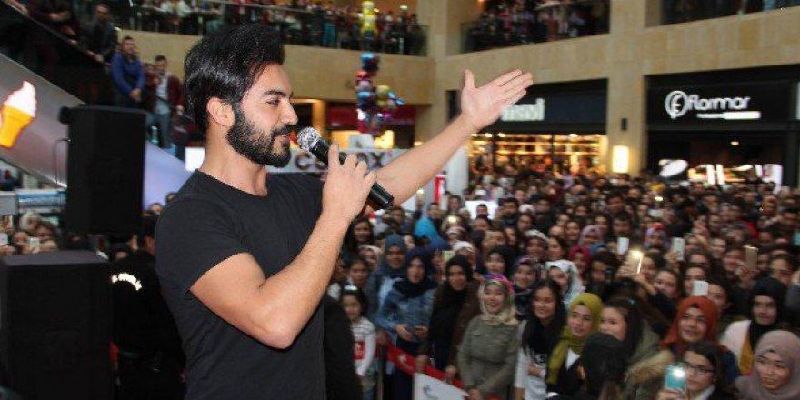Forum Kapadokya'da Şarkıcı Yusuf Güney İzdihamı