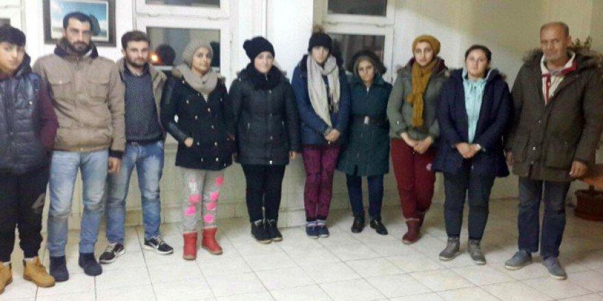 Tekirdağ'da 10 Suriyeli TIR Dorsesinde Yakalandı