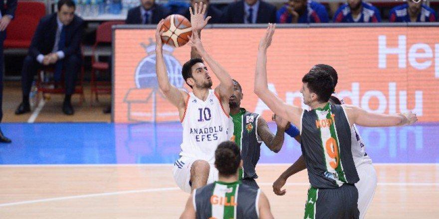 Anadolu Efes 82-75 Yeşilgiresun Belediyespor