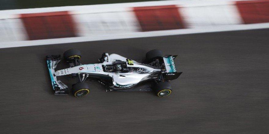 2016 Formula 1 Dünya Şampiyonu Mercedes AMG Rosberg