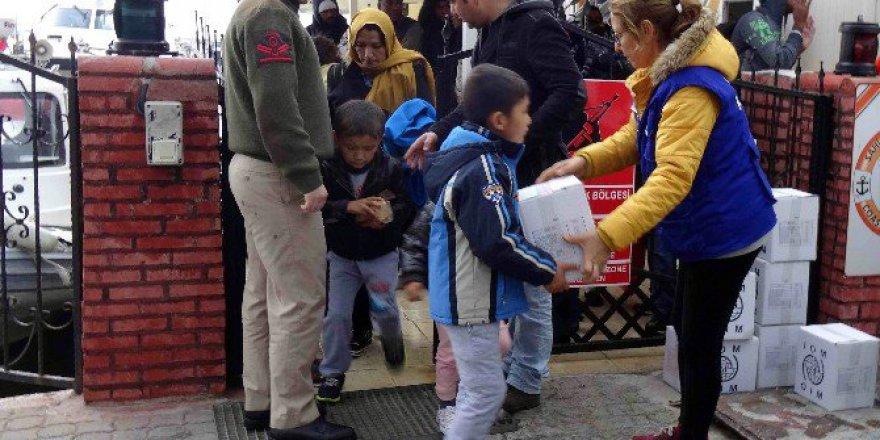 Çanakkale, Ayvacık'ta 64 Kaçak Göçmen Yakalandı
