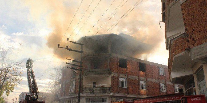 Samsun, Çarşamba'da Yangın Paniği