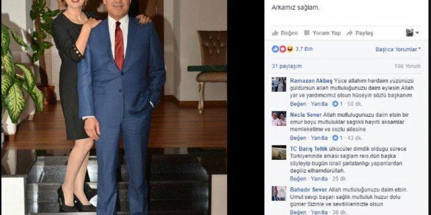 Başkan Sözlü'nün ''Arkamız Sağlam'' Paylaşımı Büyük Beğeni Topladı