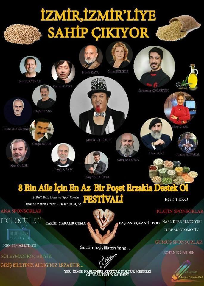 İzmir, izmirliye sahip çıkıyor Festivali için Son 4 Gün