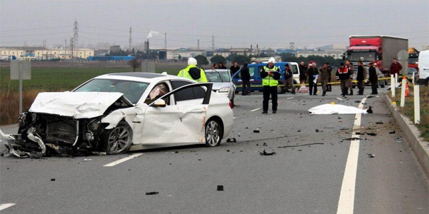 Kırklareli'de feci kaza! 2 ölü, 2 yaralı