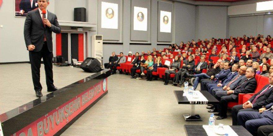Türkiye Barolar Birliği Başkanı Metin Feyzioğlu Manisa'da