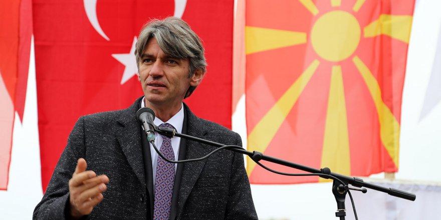Makedonya'dan Başkan Hasan Akgün'e teşekkür