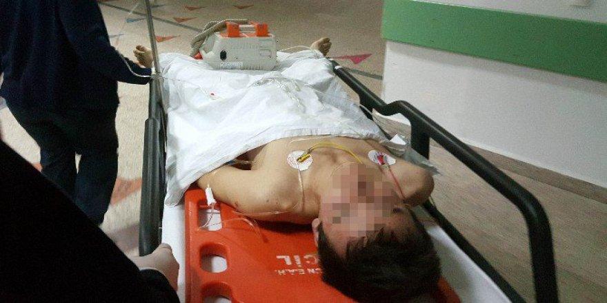 Samsun'da Bıçaklı Saldırıya Uğrayan 17 Yaşındaki Genç Ağır Yaralandı