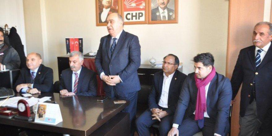 CHP Heyeti Kars'a Geldi