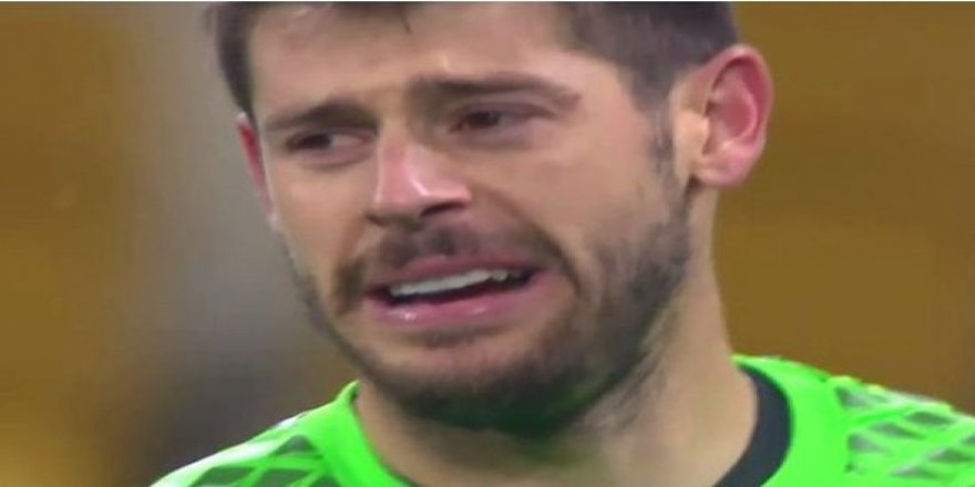 Beşiktaşlı kaleci Fabri, Kiev maçında gözyaşlarına hakim olamadı