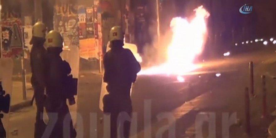Atina'da 8 Yıl Önce Öldürülen Alexis Grigoropulos Anmasında Olaylar Çıktı