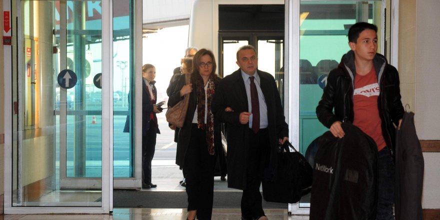 Yeni İsrail Büyükelçisi Kemal Ökem, Tel Aviv'e gitti