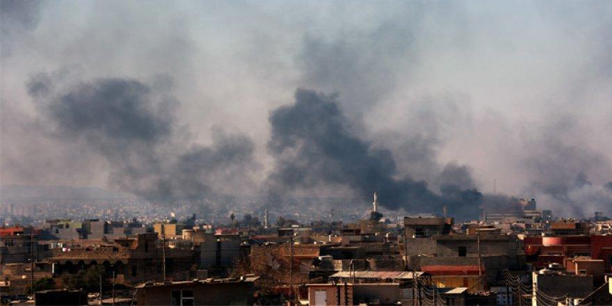 Musul'un Doğusu Bombardıman Altında