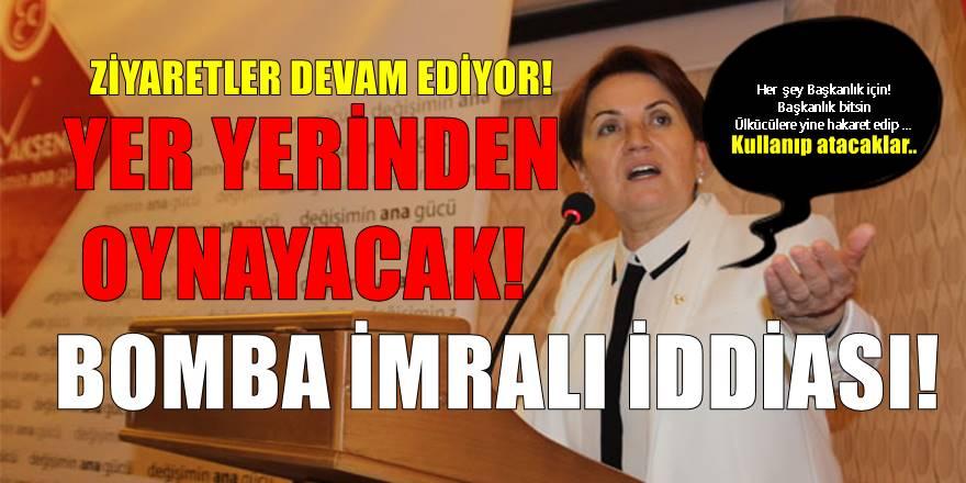 Meral Akşener'den Halk TV ekranında bomba açıklamalar!