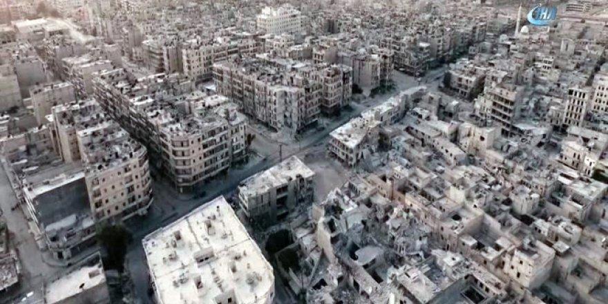 Halep'te Saldırıya Uğrayan Binada En Az 100 Çocuk Mahsur