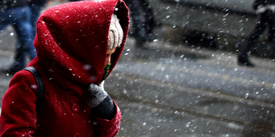 İstanbul Kar Yağışı Altında