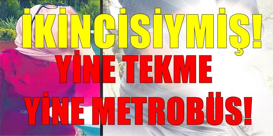 İstanbul'da yeni ortaya çıkan ikinci metrobüsde tekmeli saldırı vakası!