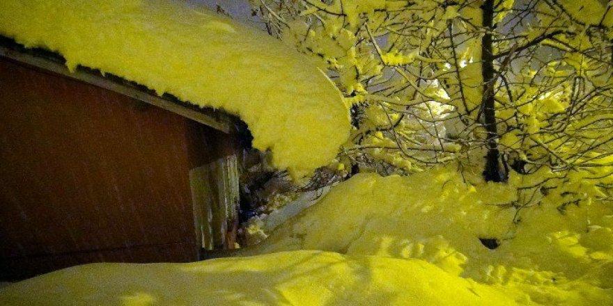 Bitlis'te Kar Yağışı Nedeniyle 270 Köy Yolu Ulaşıma Kapandı