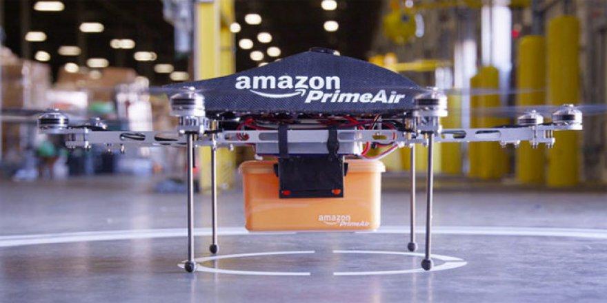 Amazon, ilk defa drone ile teslimatını gerçekleştirdi