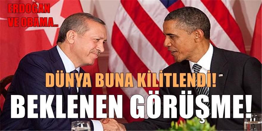 Cumhurbaşkanı Erdoğan ve Obama'dan kritik görüşme