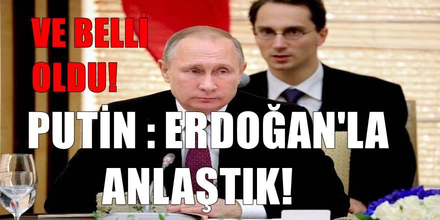 Putin'den Erdoğan açıklaması! Anlaştık ; Astana'da görüşeceğiz