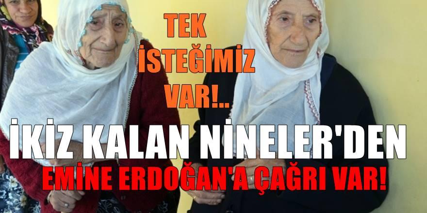 Ordu'da Hacer ve Emriye Sarı'nın tek isteği Emine Erdoğan'ı görmek