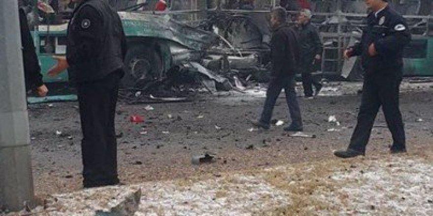 Kayseri'de vatandaş patlama sonrası yardıma koştu!